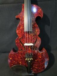 Best model celluloid Tortoise shell electric viola 16