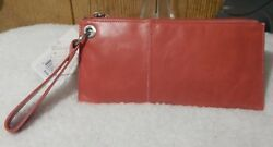 Hobo International Coral Vida Wristlet Clutch Vintage Leather Retail $98 NWT