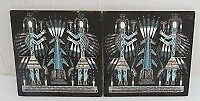 2 Nilli Thomas Signed Double Male Sand Paintings