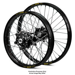21 Front 18 Rear Black Spoked Wheels Fit Honda Africa Twin Crf1000l 2015 2016