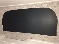 1961 Ford Starliner Rear Package Tray Molded In Black -- Brand New Product.