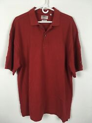 Callaway Golf Mens Red Short Sleeve Polo Top Shirts Size Xl A1211