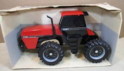 Case Ih 4994 Tractor 4-wheel Drive Tinted Glass Window Cap And Steps Diecast 116