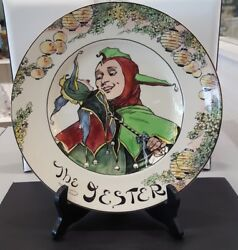 Royal Doulton The Jester Collector Plate D-6277