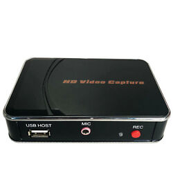 1080p Hd Game Capture Card Hdmi Video Recorder Mic Input For Xbox Ps3 Ps4 Tv Box