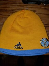 New Officially Licensed Adidas Nba Denver Nuggets Beanie