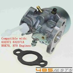 Motorcycle Carburetor Replacement For Tecumseh 632371 632371a Hsk70 H70 Engines