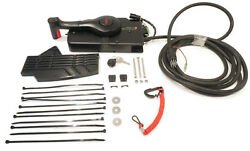 Remote Control Fits 1993 And Up Mercury Force Outboard 4hp Cables Non-power Trim