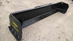 Linville 10' Low Profile Skid Steer Snow Pusher American Made