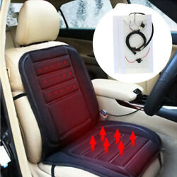2 or 4 Car Seats Heater Carbon Fiber Universal Kit w 2-dial 5-level Switch 12V