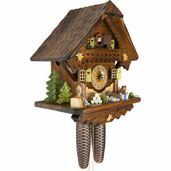 Cuckoo Clock The Summer Meadow Chalet With 8-day-movement