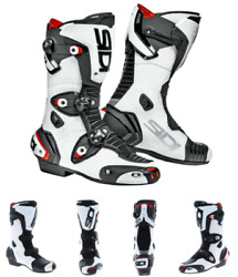 Sidi Mag 1 Air Racing And Sports Motorcycle Motorbike Boots Ce Approved