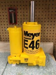 Meyer Snow Plow E46 Hydraulic Plow Pump - Sand Blasted Complete Rebuild