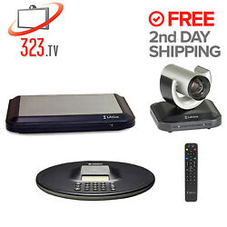 Lifesize Team 220 Complete Hd Video System W/ Camera 200 And Phone 1000-0000-1129