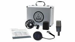 AKG C414 XLS Reference Multipattern Studio Condenser Microphone w Shockmount