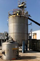 13000 Gallon Stainless Steel Jacketed Tank
