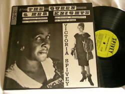 Victoria Spivey Queen And Her Knights Lonnie Johnson Little Brother Montgomery Lp
