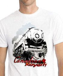 Canadian Pacific Cp 4-6-4 Royal Hudson Canadian Royalty Menand039s T-shirt