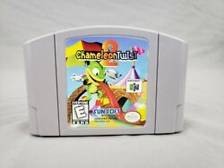 Chameleon Twist 2 N64 Game Nintendo Tested Authentic Cartridge Only