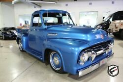 Ford F100  1954 F100 with Fuel Injected 5.0 Coyote Custom Chassis Wilwood Brakes AC!!