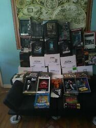Mcfarlane & Code 3 3D Movie Sculpture Posters Lot Both Complete Sets (39) Read