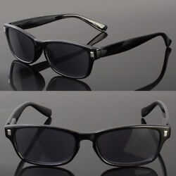 Full Lenses Magnified Tinted Sun Reader Reading Sunglasses Unisex Classic Style $9.89