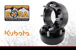 Kubota L5030 1.50 Rear Wheel Spacers 2 By Bora Off Road - Usa Made