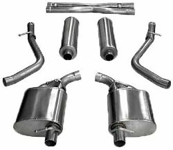 Corsa Sport Cat-back Exhaust For 2015-2017 Dodge Charger / Chrysler 300 Rt 5.7l