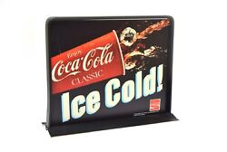 Vintage Coca Cola Vending Machine Sign Advertising Topper- Two Sided