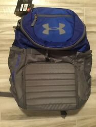 [1263963-402] New Men's UA Under Armour Storm Undeniable II Backpack - Blue