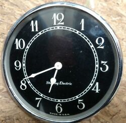 Early Street Car Trolley Bus Train Clock. Incredible Condition Sterling Electric
