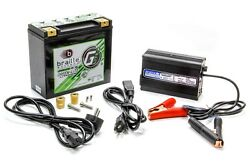 BRAILLE AUTO BATTERY 12 V Lithium Green-Lite Battery and Charger Kit PN G20C