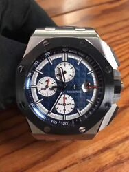 Audemars Piguet Royal Oak Offshore 26401PO.OO.A018CR.01 Platinum Ceramic Watch
