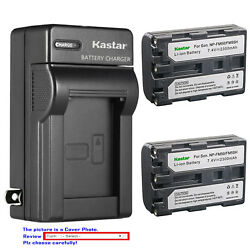 Kastar Battery Wall Charger for Sony NP FM50 NP FM30 FM50 FM50 NP FM55H NP QM51