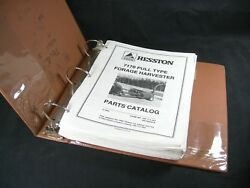 Hesston Agco 7170 Pull Type Forage Harvester And Forage Head Parts Manuals Books