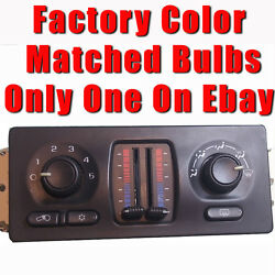 LIGHT BULB KIT Manual Slide Climate Control 2003 04 05 06 Silverado Sierra Tahoe