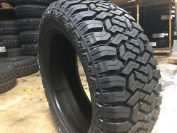 6 New 265/70r17 Fury Off Road Country Hunter R/t Tires Mud A/t 265 70 17 R17 Mt