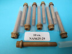 Nas625-29 Double Hex 5/16andrdquo-24 X 1-13/16 Grip X 2-11/32 Long Aerospace Bolts 10