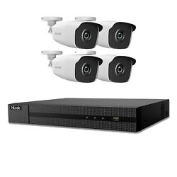 Hikvision Camera Kit 5mp Outdoor 40m Exir Hd Bullet Cctv Security Home System