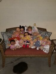 Lot Of 15 Cabbage Patch Dolls