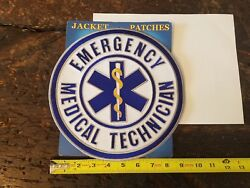 Large Emergency Medical Technician Sew on Patch