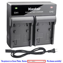 Kastar Battery Rapid Charger For Sony Np-fv100 And Hdr-xr155 Hdr-xr160 Hdr-xr260