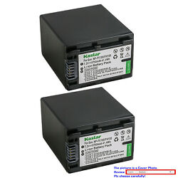 Kastar Replacement Battery For Sony Np-fv100 Sony Hdr-xr155 Hdr-xr160 Hdr-xr260