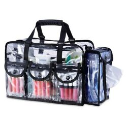 Beauty Makeup Cosmetic Storage Bag Clear Travel Organizer Gift for Her