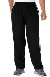 Nwt Men Plus Sİze Lightweight Jersey Sweat Pants With Stripes 2x-9x Msrp 79.99