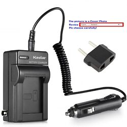 Kastar Battery Ac Travel Charger For Sony Np-qm91d And Sony Dcr-dvd200 Dcr-dvd201