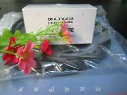 One For Dfk 33g618 Gige Color Industrial Camera 1/4 Inch Ccd 640×480 0.3 Mp