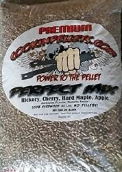Smoking Pellets Wood Bbq Premium Exclusive Mix Hickory Hard Maple Cookinpellets
