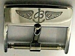 Vintage 80s 16mm Breitling Buckle Tang For 16mm To 18mm Strap - Buckle Only