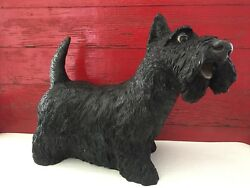 Universal Statuary Scottie Dog Scottish Terrier Large